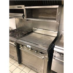 STAINLESS STEEL GRIDDLE WITH OVEN
