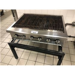 STAINLESS STEEL GRILL WITH STAND