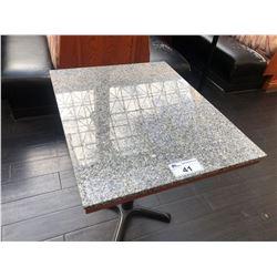 "24.5"" X 30.5"" GRANITE TOP  DINING TABLE"
