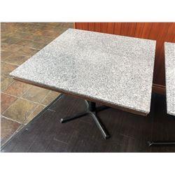 "36.5"" X 36.5"" GRANITE TOP  DINING TABLE"
