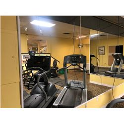 ALL MIRRORS IN EXERCISE ROOM