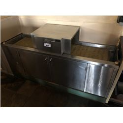 MOYER DIEBEL STAINLESS STEEL COMMERCIAL GRADE GLASS WASHER