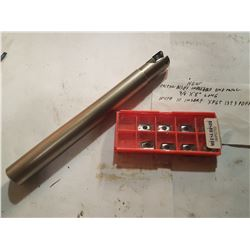 """Indexable End Mill 3/4"""" Mitsubishi with Inserts"""