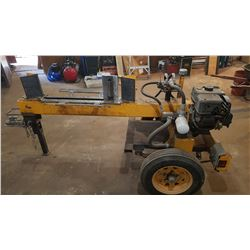 "Log Splitter 13 ton 6.5HP 23""3/4 Cutting capacity back and forth"