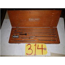 "Starrett No. 124 Inside Micrometer Set 2""-""12"""