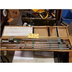"Mitutoyo 8""- 40"" Inside Micrometer"