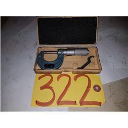 "Mitutoyo Micrometer 0-1"" 103-127"