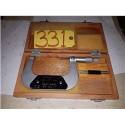 """Micrometer 3""""-4"""" .0001"""