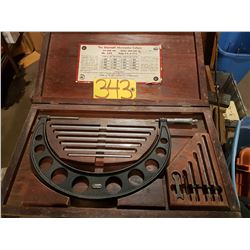"""Starrett Micrometer 6""""to 12"""""""