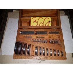 Brown & Sharpe gauge GO NOGO Set