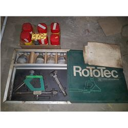 Eutectic & Castolin Rototec Shaft Protector Kit with 6 cases of powder