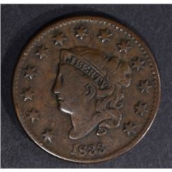 1833 LARGE CENT, VF