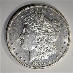 1879-S REV 78 MORGAN DOLLAR  AU/UNC