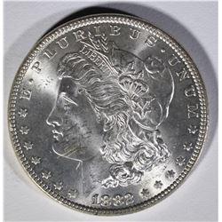 1882 MORGAN DOLLAR  GEM BU