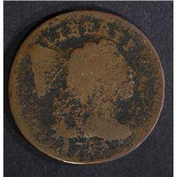 1795 LIBERTY CAP LARGE CENT, AG/G