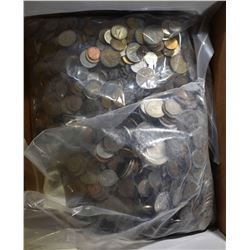 24 POUNDS WELL MIXED FOREIGN COINS
