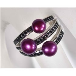 HONORA STERLING SILVER CULTURED