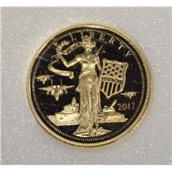 2017 COOK ISLAND 1/10 oz .24 FINE GOLD