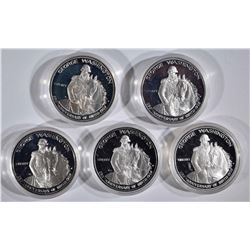 5 - G. WASHINGTON PROOF SILVER 50c