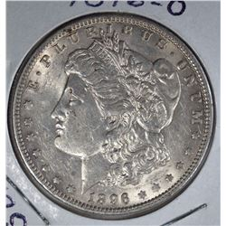 1896-O MORGAN DOLLAR AU/UNC