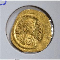 582-602 AD GOLD TREMISSIS