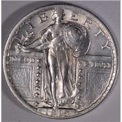 1919 STANDING LIBERTY QUARTER  CH BU