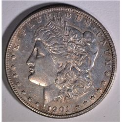 1901-S MORGAN DOLLAR  AU