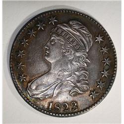 1823 CAPPED BUST HALF DOLLAR  CH BU