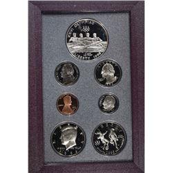 1996 U.S. PRESTIGE SET IN ORIG BOX/COA