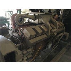 ONAN 1 MEGAWATT GENERATOR SET, MODEL 1000DFLA, SPEC. 52357G, 3 PHASE, 1800 RPM, CUMMINS 16 CYL. DIES