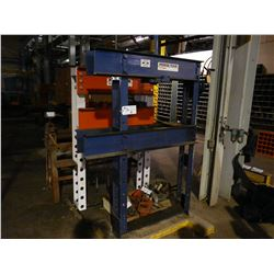 POWER TEAM 25 TON HYDRAULIC SHOP PRESS