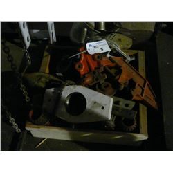 LOT OF RIDGID PIPE TOOLING AND OTHER ASSORTED PARTS