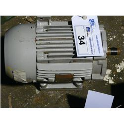 WEG 3 PHASE 1 HP 1140 RPM 575 VOLT INDUCTION MOTOR