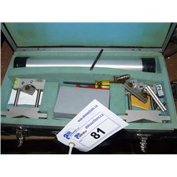 PREDICTIVE MAINTENANCE REVERSE DIAL/OPTALIGN LASER WITH CASE AND ACCESSORIES