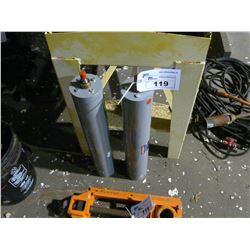2 BIMBA DOUBLE WALL MRS UNITS, MODEL DWM-12522-2, 200 PSI