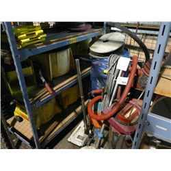 CONTENTS OF TOOL CAGE INC. ASSORTED JANITORIAL PRODUCTS, EQUIPMENT AND MORE