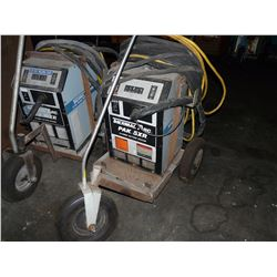 THERMAL ARC PAK 5XR PLASMA CUTTING SYSTEM WITH CABLING AND CART
