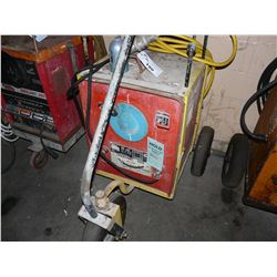 LINCOLN IDEALARC 250 WELDING POWER SOURCE, WITH CART