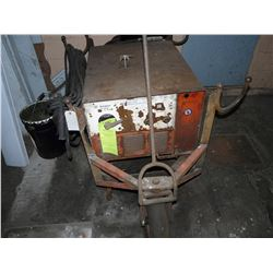 WESTINGHOUSE LIFE GUARD DC ARC WELDER, WITH CART