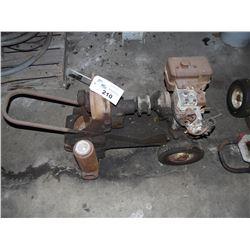 GAS POWERED DIAPHRAGM PUMP