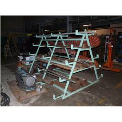 CONTENTS OF STEEL RACK INC. TOOLING, METAL BARS, PARTS AND MORE