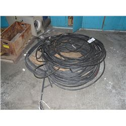 PALLET OF HEAVY DUTY ELECTRICAL CABLING, ELECTRICAL COMPONENTS, PARTS AND MORE