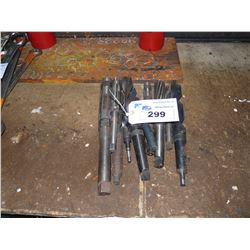LOT OF ASSORTED HEAVY DUTY DRILL BITS