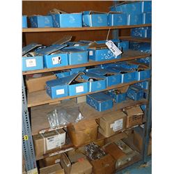 CONTENTS OF RACKING BAY INC. ASSORTED NUTS, BOLTS, HARDWARE AND MORE, ASSORTED GRADES