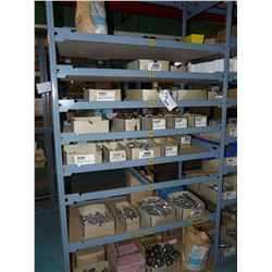 CONTENTS OF RACKING BAY INC. ASSORTED NUTS, BOLTS AND HARDWARE, MOSTLY STAINLESS STEEL