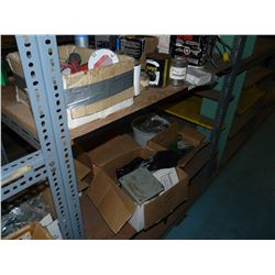 CONTENTS OF BAY OF RACKING INC. ASSORTED SOLVENTS, CLEANERS, FLUIDS, PARTS AND MORE