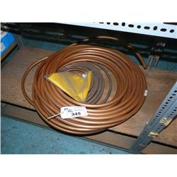 LOT OF COPPER PIPING