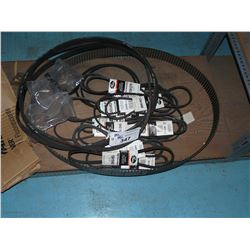 LOT OF ASSORTED TIMING BELTS