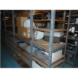 LOT OF LIGHTING, ELECTRICAL BOXES AND MORE