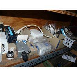 CONTENTS OF SHELF INC. ELECTRICAL SWTICHES, PARTS AND MORE